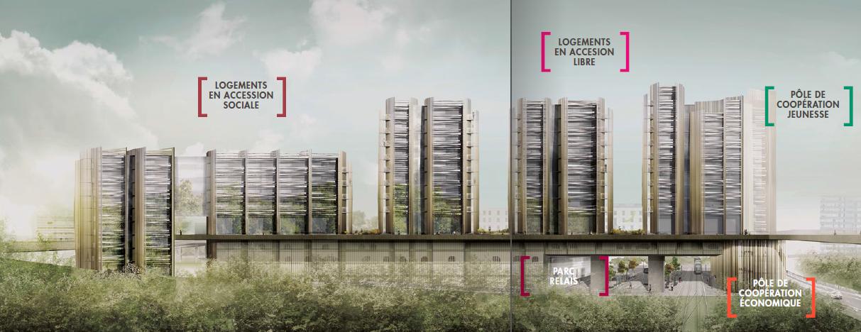 Grands projets ville de lormont for Projet d architecture